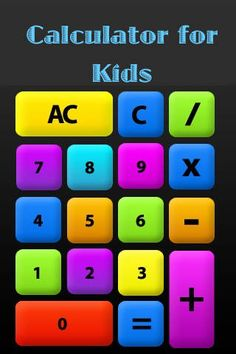 eyad ayesh | Education | iPhone | Calculator for Kids $0.00 | ver.1.0| $0.99 | Welcome to Calculator for Kids.Enjoy this simple calculator for kids, easy to learn to add number. Your kids can easily learn how to ...