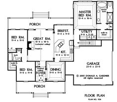 Hatfield House Floor Plan