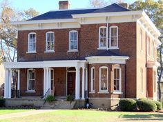 President's mansion on the campus of Talladega College