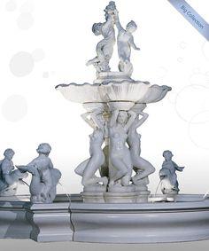 Herrschaftlicher Springbrunnen Die U201cBig Collectionu201d Sind Springbrunnen, Die  Einzelnd Für Sich Ein Gesamtkunstwerk