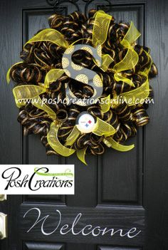 Pittsburgh Steelers Steelers Football Steelers by poshcreationsKY, $75.00