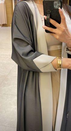 Iranian Women Fashion, Islamic Fashion, Muslim Fashion, Modest Fashion Hijab, Abaya Fashion, Fashion Dresses, Mode Abaya, Mode Hijab, Hijab Fashion Inspiration