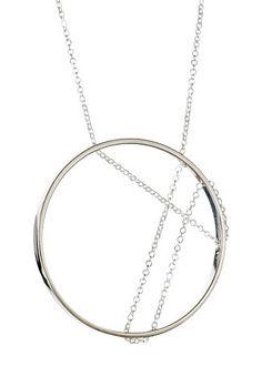 Vitruvia Necklace in Sterling Silver