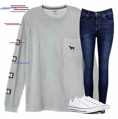 50 Totally Inspiring School Outfits Ideas For Teen Totally Inspiring School Outfits Ideas For Teen 31 Outfits For Teens For School, Casual School Outfits, Lazy Day Outfits, Teen Girl Outfits, Cute Summer Outfits, Stylish Outfits, Cool Outfits, Fashion 101, Teen Fashion