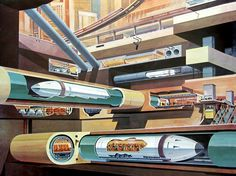 like the tubes in futurama, only underground!