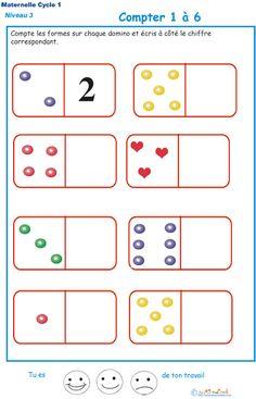 Maths en maternelle pour grande section et moyenne section math matiques et g om trie math - Exercice gs a imprimer ...