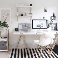 7 Stunning Accent Chairs For Your Home Office / office chairs, chair design, home office #modernchairs #chairdesign #homeoffice  For more inspiration, visit: http://modernchairs.eu/