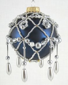 Beaded Ornament (must remember to start in time!) ☺