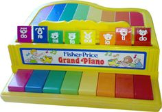 green toy piano 80's - Google Search