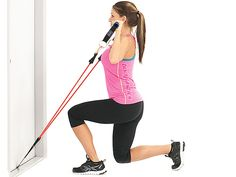 Legs Exercises With Resistance, Exercise Bands are amazing because they build muscle without the wear and tear on your joints. Build quality muscle with bands! Leg Cellulite, Cellulite Exercises, Resistance Workout, Resistance Band Exercises, Easy Workouts, At Home Workouts, Hammer Curls, Exercise Bands, Tone It Up