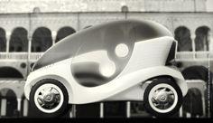 O.V.O. Alien - electric car in the city
