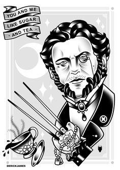 Wolverine & Tea. Awwww yisss