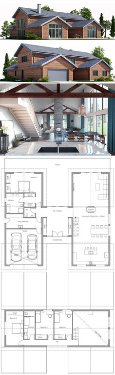 Architecture, Shipping container house plan
