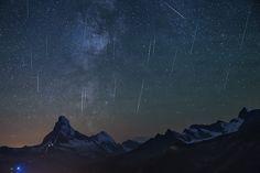 Perseiden in Zermatt