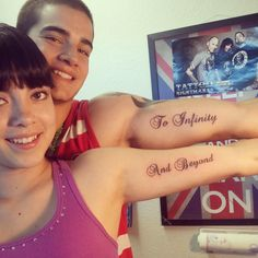 Cute couple tattoo!