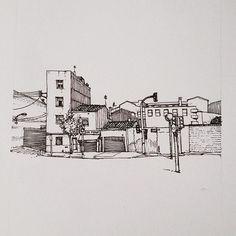 Terrassa #41 #morcky #illustration #terrassa #canaurell #riera #cogullada