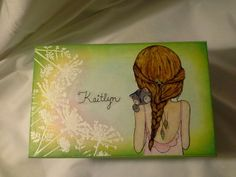 Beautiful personalized handcrafted wood box. (Recreated art)  Enchanted Giftss/Etsy.com