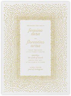 KELLY WEARSTLER X PAPERLESS POST. Invitation | Jubilee, Wedding Collection