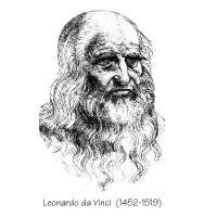 Da Vinci self portrait