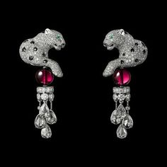 Exhibition Étourdissant Cartier: The horology buff and high jewellery fanatic's wonderland, Watches & Jewellery, Buro Cat Jewelry, Animal Jewelry, High Jewelry, Luxury Jewelry, Jewelry Art, Vintage Jewelry, Jewelry Design, Bullet Jewelry, Ruby Jewelry