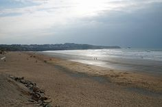 Fistral Beach looking towards Pentire