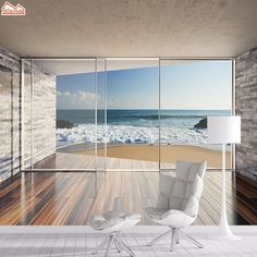 8.25US $ 50% OFF|3d Wallpaper Mural Wallpapers for Living Room Wall Paper Papers Home Decor Sea View Interior Self Adhesive Walls Murals Roll Art|Wallpapers|   - AliExpress