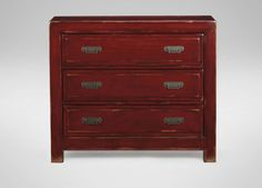 ETHAN ALLEN: MING SMALL CHEST