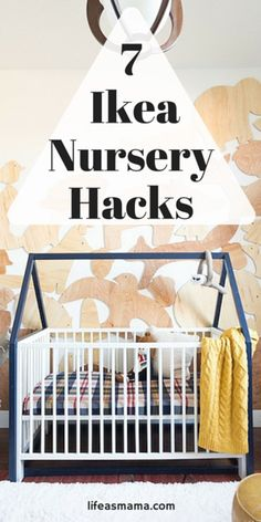 When it comes time to decorate your nursery, it may not always be plausible to spend big bucks on high-end cribs, changing tables, and decor. IKEA is an awesome source of highly affordable furniture and other wares that are amazingly chic and sturdy enough to hold up for a good amount of time. These hacks will change the way you see Ikea forever!