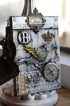 """""""Chrisy's Cottage"""" by the Sea: Altered Art Classes and Kits"""