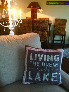 Another great pillow from 'Seasons House Decor' Branson Landing #LandinLivin
