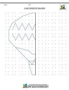 printable-geometry-worksheets-1-line-symmetry-balloon.gif (1000×1294)