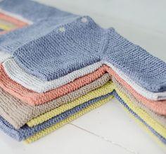 Standard Knit by Naoko Shimoda Japanese by JapanLovelyCrafts Baby Knitting Patterns, Baby Sweater Knitting Pattern, Crochet Vest Pattern, Knitting For Kids, Baby Patterns, Diy Crochet Cardigan, Crochet Baby Jacket, Crochet Baby Booties, Baby Cardigan