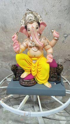 Jai Ganesh, Ganesh Lord, Ganesh Idol, Shree Ganesh, Shri Ganesh Images, Ganesh Chaturthi Images, Ganesha Pictures, Clay Ganesha, Ganesha Art