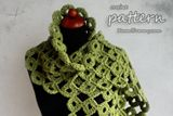 This is a crochet PDF pattern for crocheted Chunky Joy-Joy Scarf. The pattern is very detailed and is written in standard American terms. The scarf that you can create with this pattern will be about 75 inches cm) long and 10 inches cm) wide. Easy Crochet Socks, Crochet Simple, Chunky Crochet, Crochet Shoes, Crochet Slippers, Easy Crochet Patterns, Knitting Patterns, Crochet Scarves, Crochet Slipper Pattern