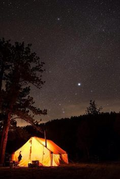 I like to sleep in the open so as I fall asleep I can look at the starry sky.