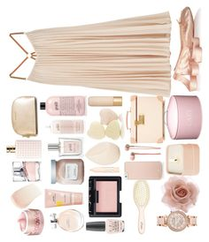 """""""Turned around"""" by juliehalloran ❤ liked on Polyvore featuring BCBGMAXAZRIA, Ballet Beautiful, BOSS Hugo Boss, MICHAEL Michael Kors, Calvin Klein, Valentino, By Terry, Bliss, philosophy and Marc Jacobs"""