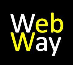 WebWay. Webmarketing & Communication. Formations au média Web. Communication, Logos, Logo, Communication Illustrations