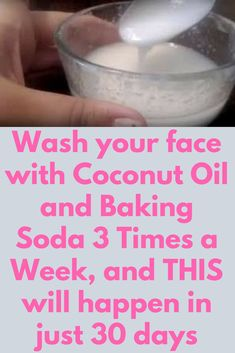 Wash your face with Coconut Oil and Baking Soda 3 Times a Week, and THIS will happen in just 30 days A very easy remedy that will give you a noticeable change in your skin. The best part of this remedy is that you need just 2 ingredients that are very easily available in every kitchen and that is Baking soda Coconut oil Now let me quickly share the steps that you need to follow Put …