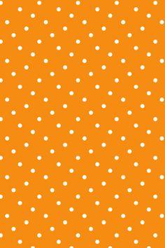 New Orange dot Orange Things orange wallpaper Iphone Wallpaper Fall, Orange Wallpaper, Man Wallpaper, Images Wallpaper, Cute Wallpaper Backgrounds, Cute Wallpapers, Polka Dot Background, Orange Background, Scrapbook Paper