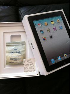 a gift for mothersday the new eyepad 5