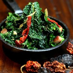 A New Take on Collard Greens: Beer & Chipotle Braised Greens