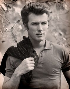 clint eastwood-oh my, i thought he was yummy as an older man but he is DELICIOUS as a young one!