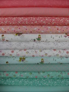 Aneela Hoey, Posy, Entire Collection in FAT QUARTERS 12 Total