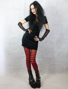 Little Voodoo Doll Mini Dress - Mavis Hotel Transylvania minidress by Moonmaiden Gothic Clothing UK