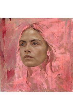 Portrait Illustration The best portrait artists in the UK Figure Painting, Painting & Drawing, Drawing Tips, Abstract Portrait, Acrylic Portrait Painting, Oil Portrait, Portrait Paintings, Guache, Best Portraits