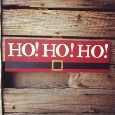 make the belt a to coordinate with other signs. Pallet Christmas, Christmas Signs Wood, Holiday Signs, Noel Christmas, Christmas Projects, All Things Christmas, Winter Christmas, Holiday Fun, Country Christmas