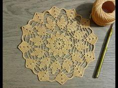 Tığişi Yatak Odası Danteli Yapımı & Yuvarlak Dantel Modeli & Crochet - YouTube