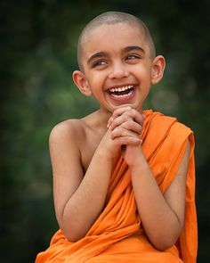 Happy Little Monk by Nayyer Reza on 500px