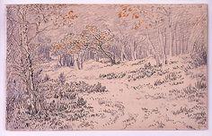 Théodore Rousseau (French, 1812–1867). Autumn Landscape, 1855–65. The Metropolitan Museum of Art, New York. Robert Lehman Collection, 1975 (1975.1.698)