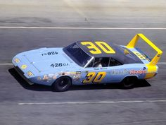 I love the old and new Dodge Chargers, here is a great Nascar Charger - 1969 Dodge Daytona Charger